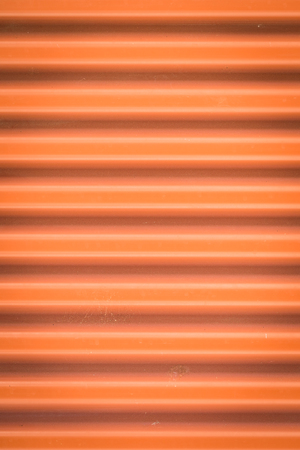 Rust red corrugated iron background