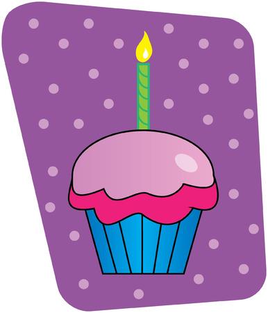 cupcake illustration: Cupcake