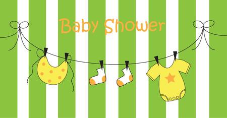 Baby Shower Stock Vector - 8265002