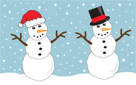 Twee sneeuw