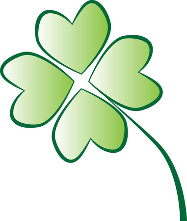 st patricks: Four Leaf Clover