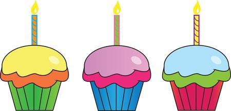 cupcake illustration: Cupcakes