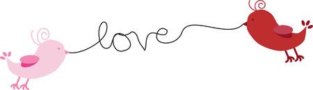 love image: Love Birds