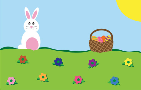 Easter Time Vector