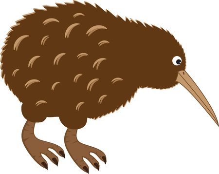 Kiwi vogel Stock Illustratie