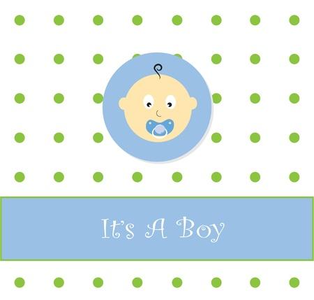 It's A Boy Stock Vector - 9555882