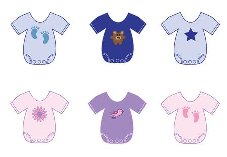Baby Clothes Stock Vector - 10229649