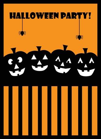 halloween party: Halloween-feest Stock Illustratie