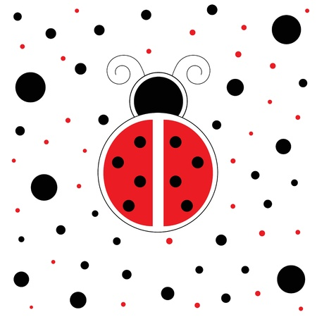 cute images: Red Ladybug