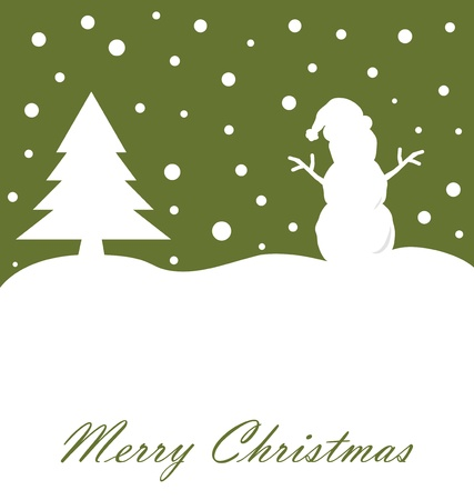 cute images: Merry Christmas Card