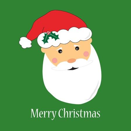 Santa Claus Greeting Card Stock Vector - 11663151