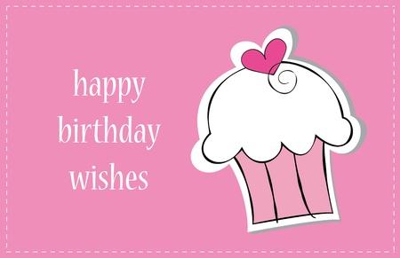 Alles Gute zum Geburtstag Kuchen Standard-Bild - 12794236