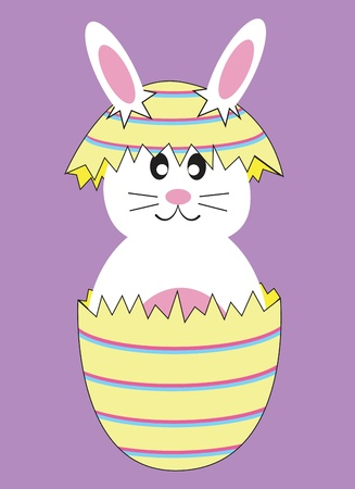 Easter Egg Bunny Rabbit Vector