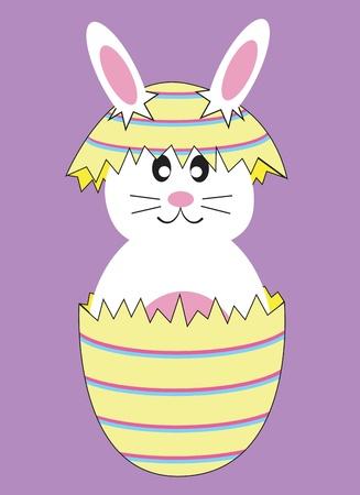 Easter Egg Bunny Rabbit Vector
