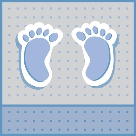 clip art feet: Baby Boy Feet