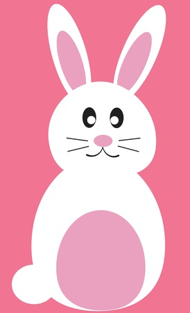 lapin blanc: Lapin de P�ques Illustration