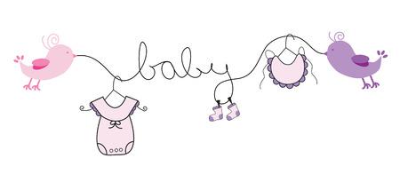 여자 아기