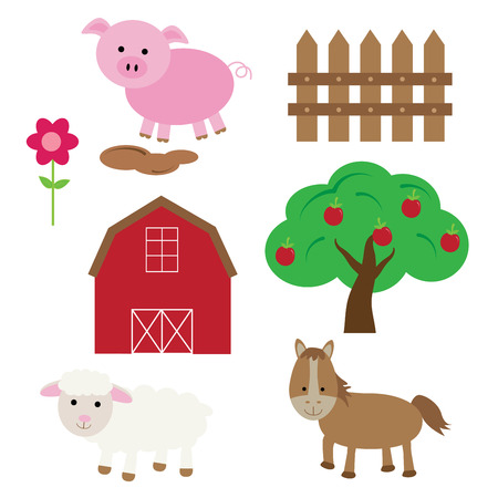 kindy: Farm Illustration