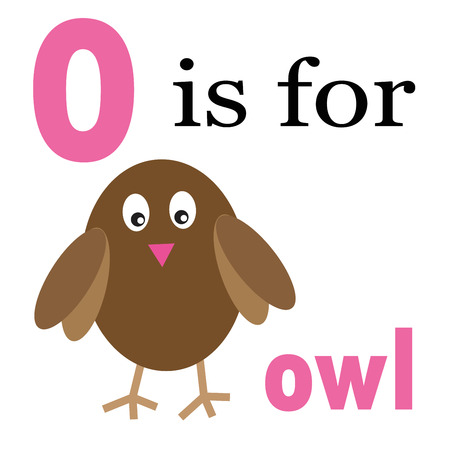 kindy: O is for Owl