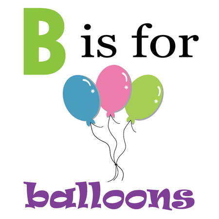 kindy: B is for Balloons