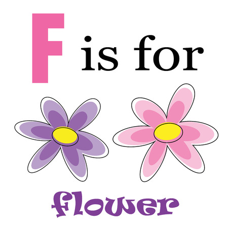 kindy: F is for Flower