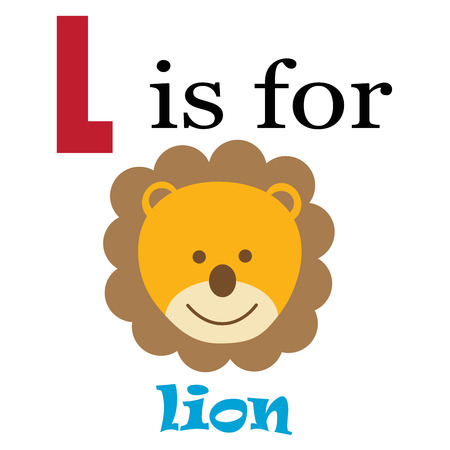 kindy: L is for Lion
