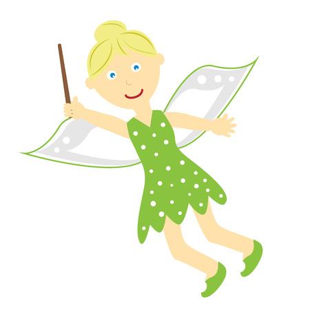 Tinkerbell Fairy Illustration