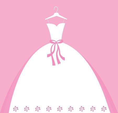 Robe de mariée Banque d'images - 31529690