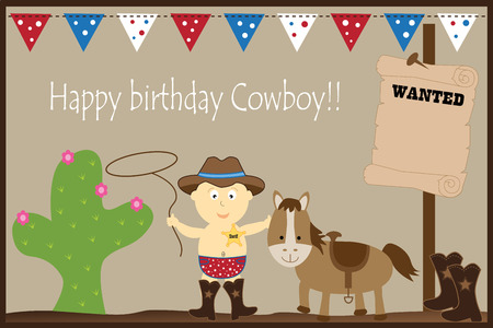 party outfit: Happy Birthday Cowboy