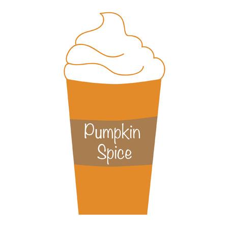 Pumpkin Spice Whipped Latte