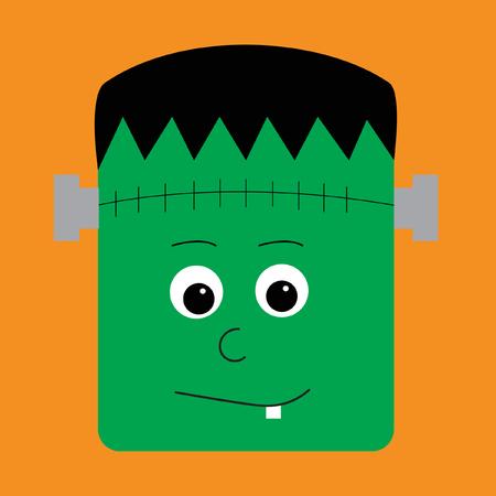 frank: Halloween Character Illustration