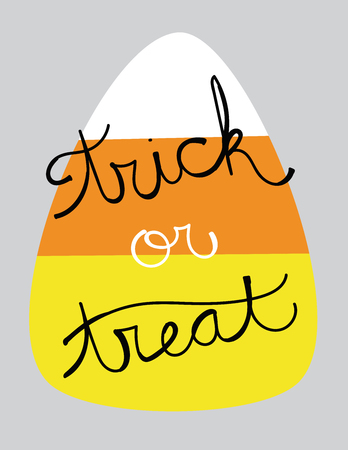 trick or treat: Trick or Treat Candy Corn