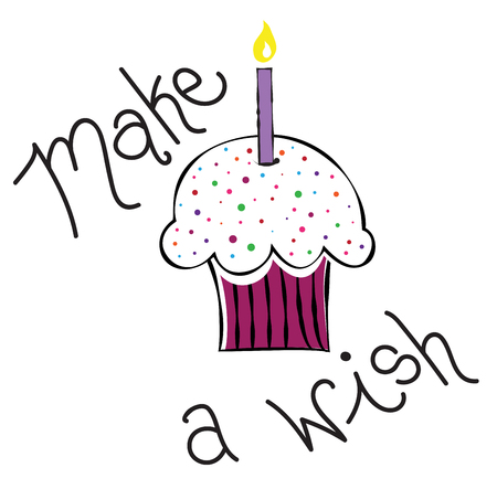 fancy pastry: Make a Wish Cupcake