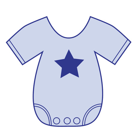 Star Boy Clothes  イラスト・ベクター素材