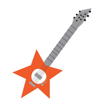 rockstar: Orange Star Guitar