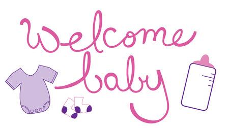 baby girl: Welcome Baby Girl