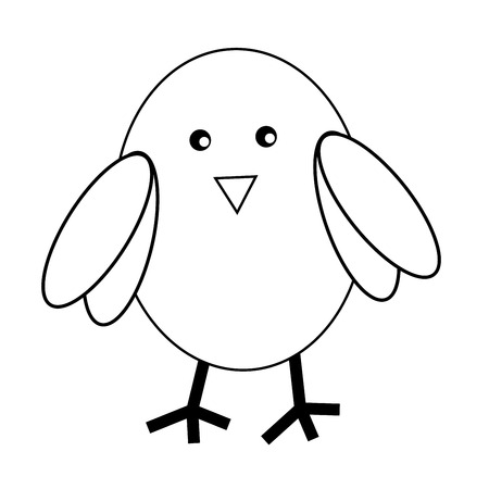 kindy: Owl Coloring Page