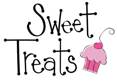 treats: El dulce trata la magdalena
