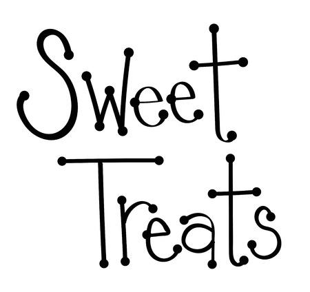 sweet treats: Sweet Treats Illustration