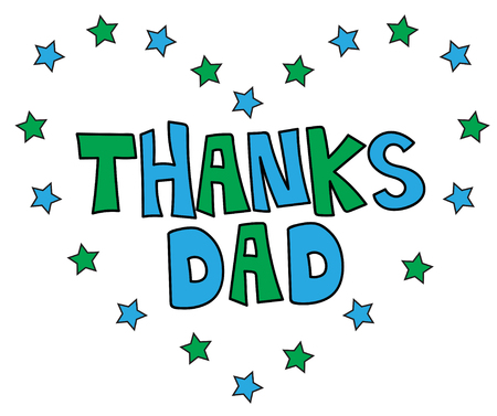 dada: Thanks Dad Heart