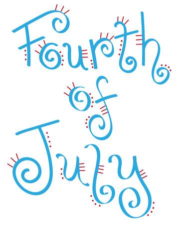 fourth of july: Fancy Fourth of July