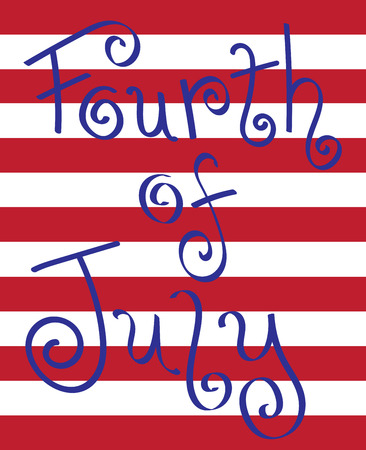 fourth of july: Fourth of July Stripes
