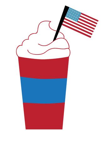 hot coffees: American Coffee