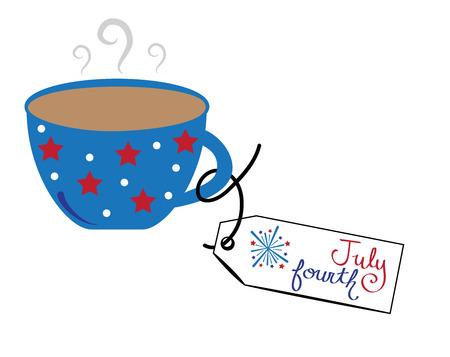 fourth of july: July Fourth Coffee