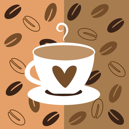 nonalcoholic: Coffee Love with Beans