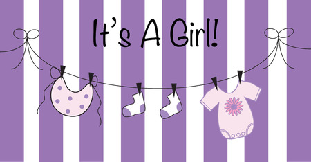 its: Its a Girl in Purple