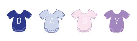 Baby Kleider Vektorgrafik