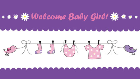 welcome baby: Welcome Baby Girl