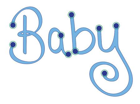 푸른 아기 편지