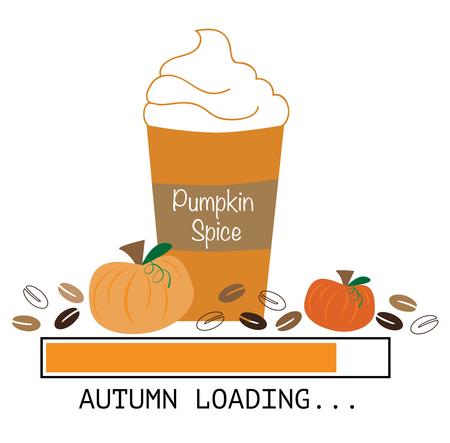 art processing: Pumpkin Coffee Loading